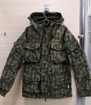 """Костюм """"Горка"""" арт. 5603, болотный КМФ, Премиум, демисезон, армированная ткань, утеплитель: термофлис"""