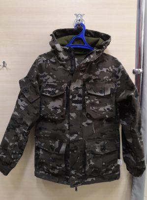 """Костюм """"Горка"""" арт. 5607, коричневый КМФ, Премиум, демисезон, армированная ткань, утеплитель: термофлис"""