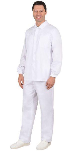 Костюм поварской мужской белый