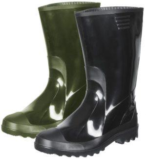 Обувь резиновая, валяная, ПВХ, ЭВА
