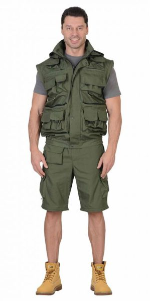 """Костюм """"Мангуст"""" куртка+брюки, тк. рип-стоп, олива"""