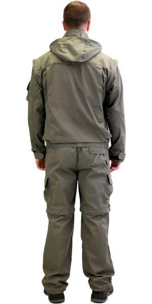 """Костюм """"Мангуст"""" куртка+брюки, оливковый"""