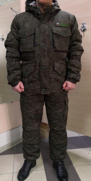 """Костюм """"Горка"""" арт. 5605, Премиум класс, болотный кмф, армированная ткань+термофольга+термофин, зима"""