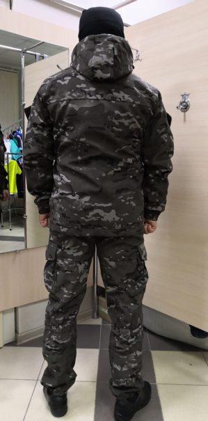 """Костюм камуфлированный """"Горка"""" арт. 5607, коричневый КМФ, Премиум, демисезон, армированная ткань, утеплитель: термофлис"""