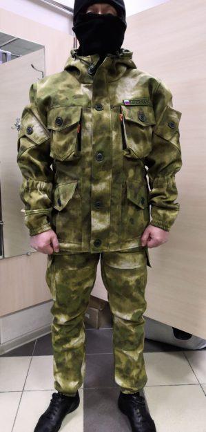 """Новинка! Костюм """"Горка Мох зелёный"""", демисезонный, армированная ткань, утеплитель: термофлис"""