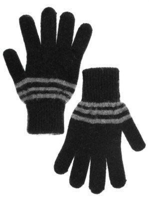 Перчатки п/ш с серой полоской