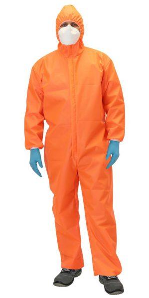 """Комбинезон защитный """"Каспер Люкс"""" многоразовый оранжевый"""