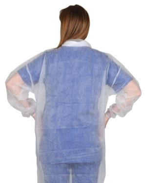Халат одноразовый (спанбонд) стерильный/нестерильный