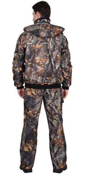 """Костюм камуфлированный """"Тайга"""" (коричневый лес) демисезонный, куртка+брюки, тк. оксфорд"""