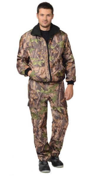 """Костюм камуфлированный """"Тайга"""" (тёмный лес) демисезонный, куртка+брюки, тк. оксфорд"""