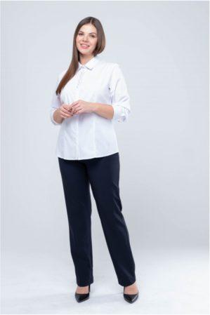 Блузка школьная подростковая белая