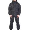 """Костюм арт.5935 """"Горка Питон чёрный"""", зима, Премиум класс, куртка+брюки, термофин+термофлис, армированная ткань, зима"""