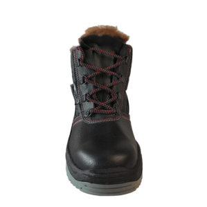 """Ботинки """"Грей"""", натуральная кожа, шерстяной мех"""