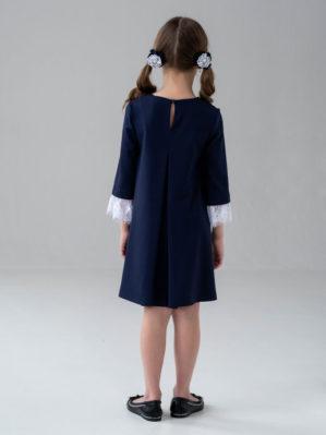 """Платье школьное """"Джессика"""" синее"""
