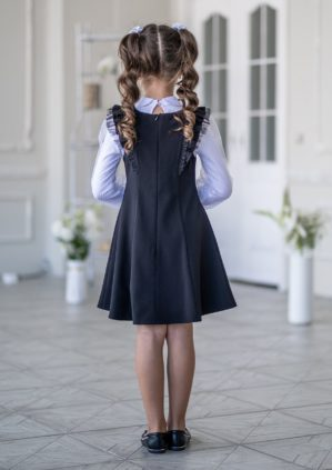 "Сарафан школьный ""Инна"" чёрный"