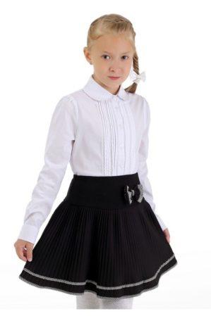 Блузка школьная белая арт. 6119