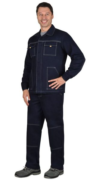 "Костюм рабочий ""Технология"" 100% хлопок, куртка+брюки"