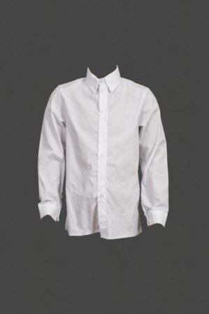 Рубашка детская школьная белая