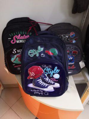 Рюкзаки школьные в ассортименте